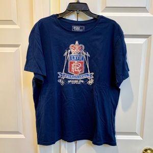 Polo by Ralph Lauren Men's Navy Tshirt